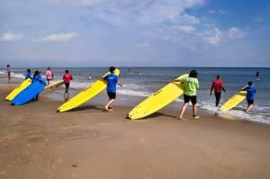Surfing Cli